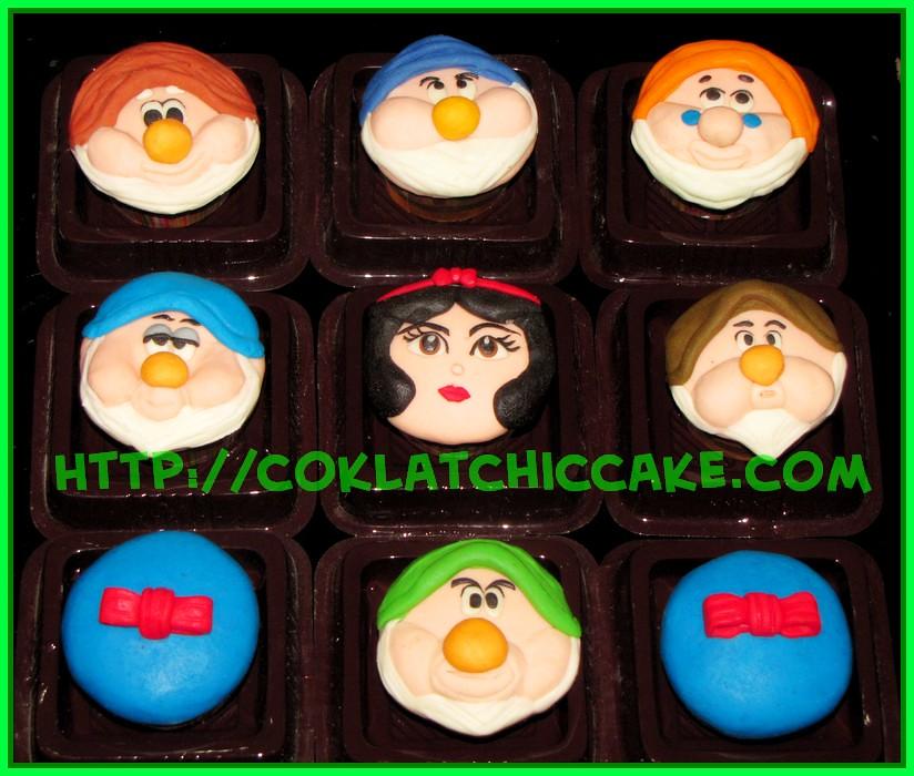 Minicupcake Snow White