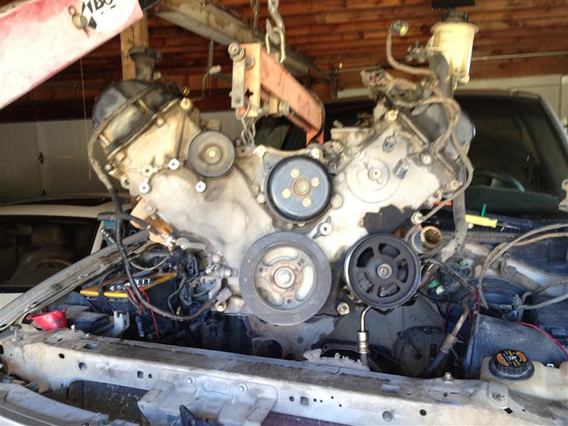 starting the v10 swap in 99 f 150 f150online forums rh f150online com F250 V10 Swap In Dodge V10 Swap