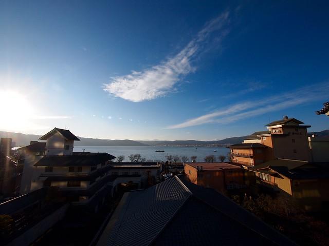 2016.1.3 諏訪湖