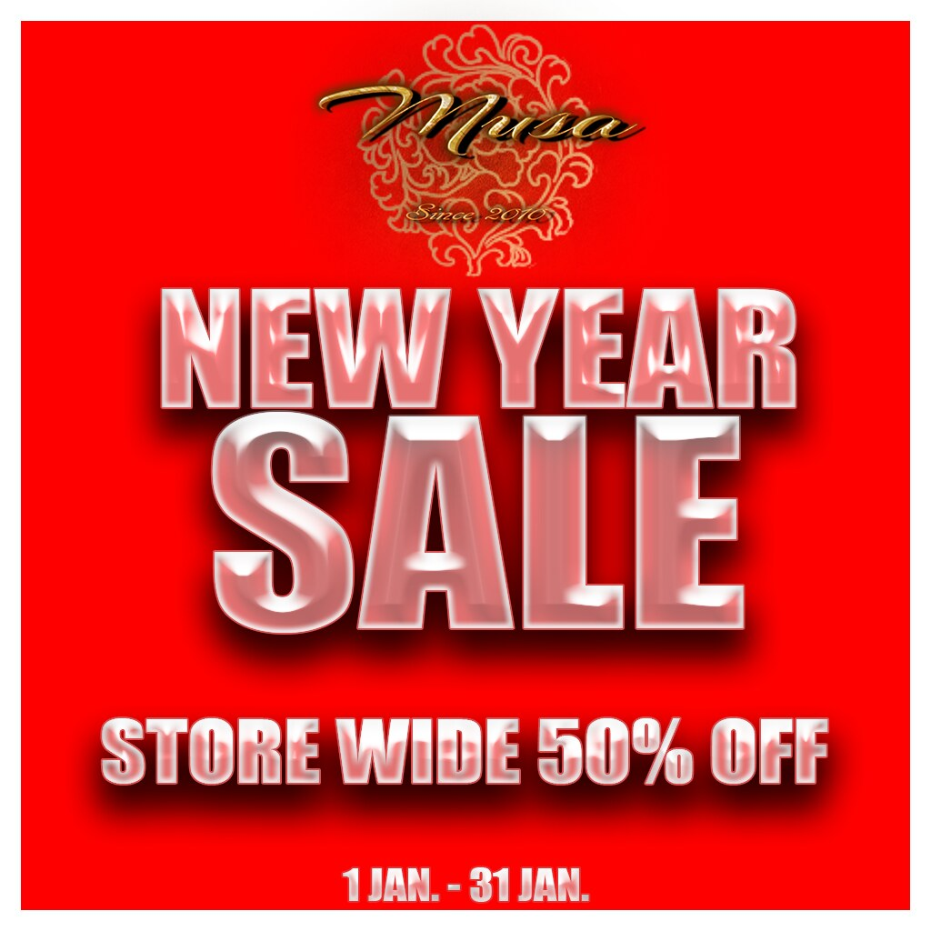 Musa New Year Sale