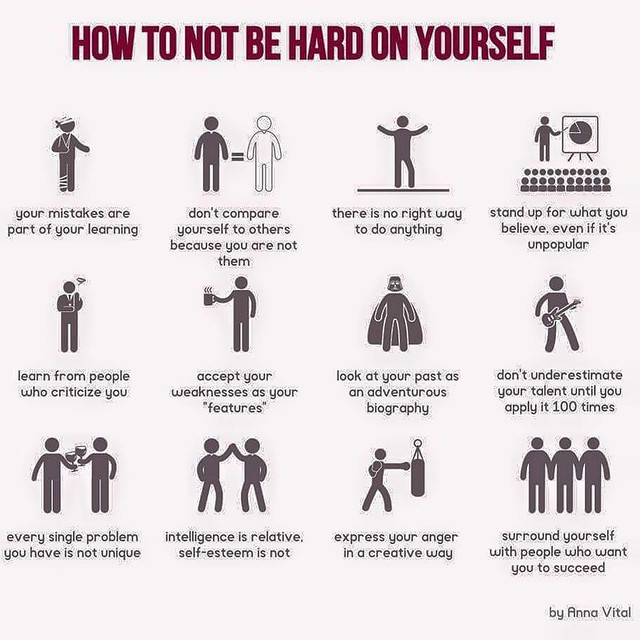How Not To Be Too Hard On Yourself