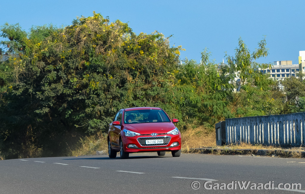 Hyundai Elite i20 AVN Test drive review-34