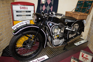 1950 BMW R 35 motorcycle