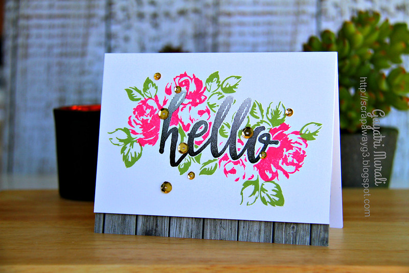 Hello card #2