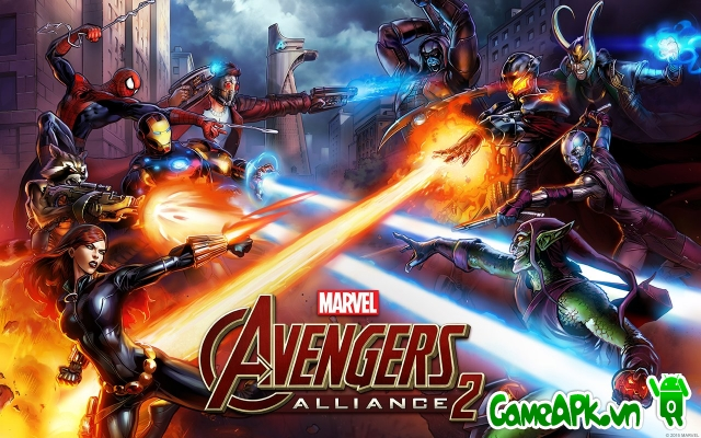 Marvel: Avengers Alliance 2 v1.0.1 hack 1 hit cho Android