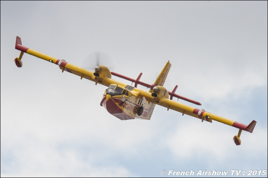 Canadair CL-415 Sécurité Civile Salon du Bourget Sigma France Paris Airshow 2015