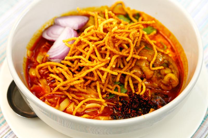 Khao Soi Crispy Noodles