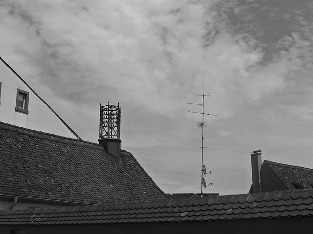 sur les toits, Basel, CH