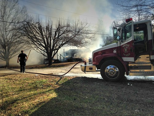 Garden City Fire Destroys Home, Melts Car, Displaces Family