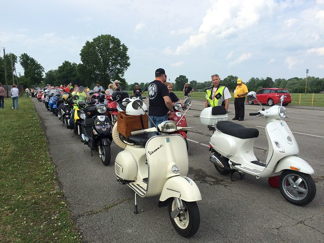 Indy 35mph and Amerivespa. June 10 - 14, 2015.