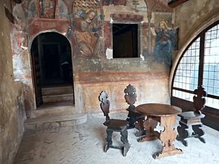 """Lazaretto with """"Annunciation"""" (17th century) - Roccaporena / Cascia / Umbria"""