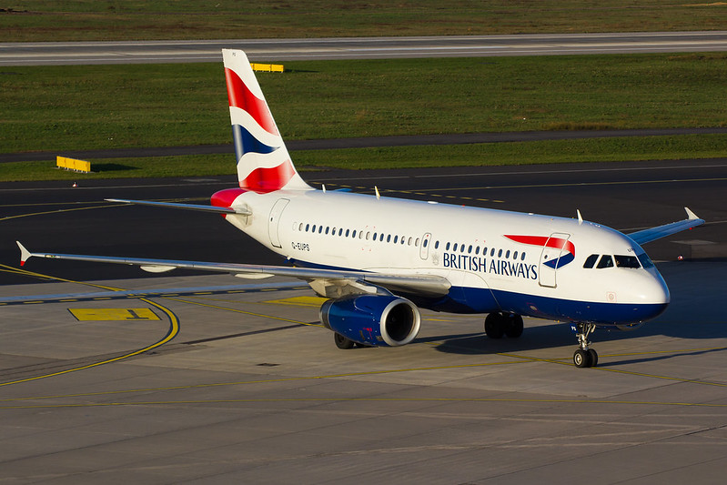 British Airways - A319 - G-EUPS (1)