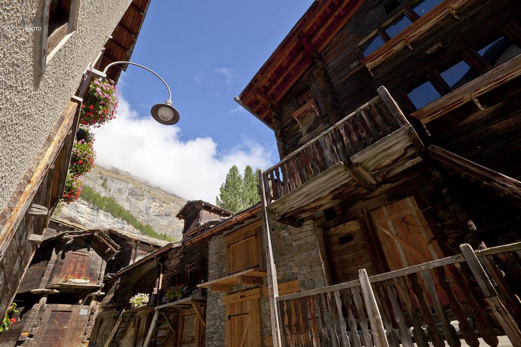 Centuries old buildings