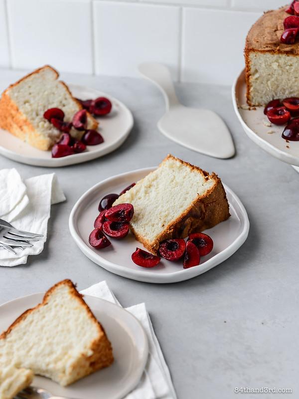 Spelt Angel Food Cake
