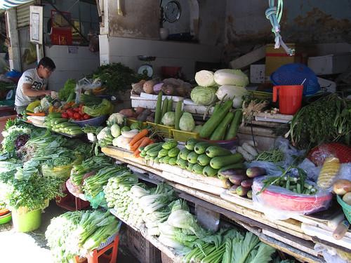 Ho Chi Minh Ville: le marché
