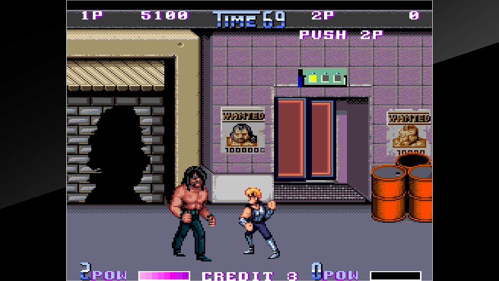 Arcade Archives Double Dragon II The Revenge on PS4