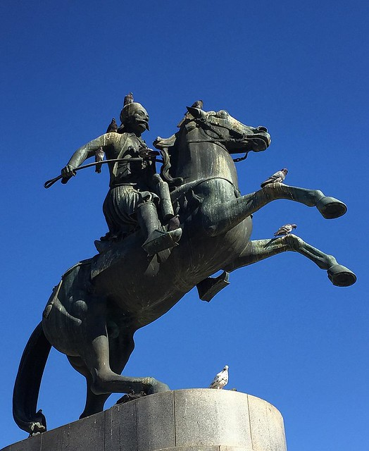 Athens Series   Georgios Karaiskakis Statue