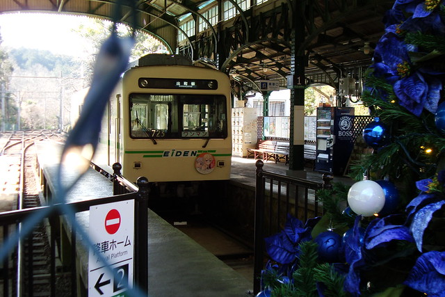 2016/01 叡山電車×NEW GAME! ラッピング車両 #42