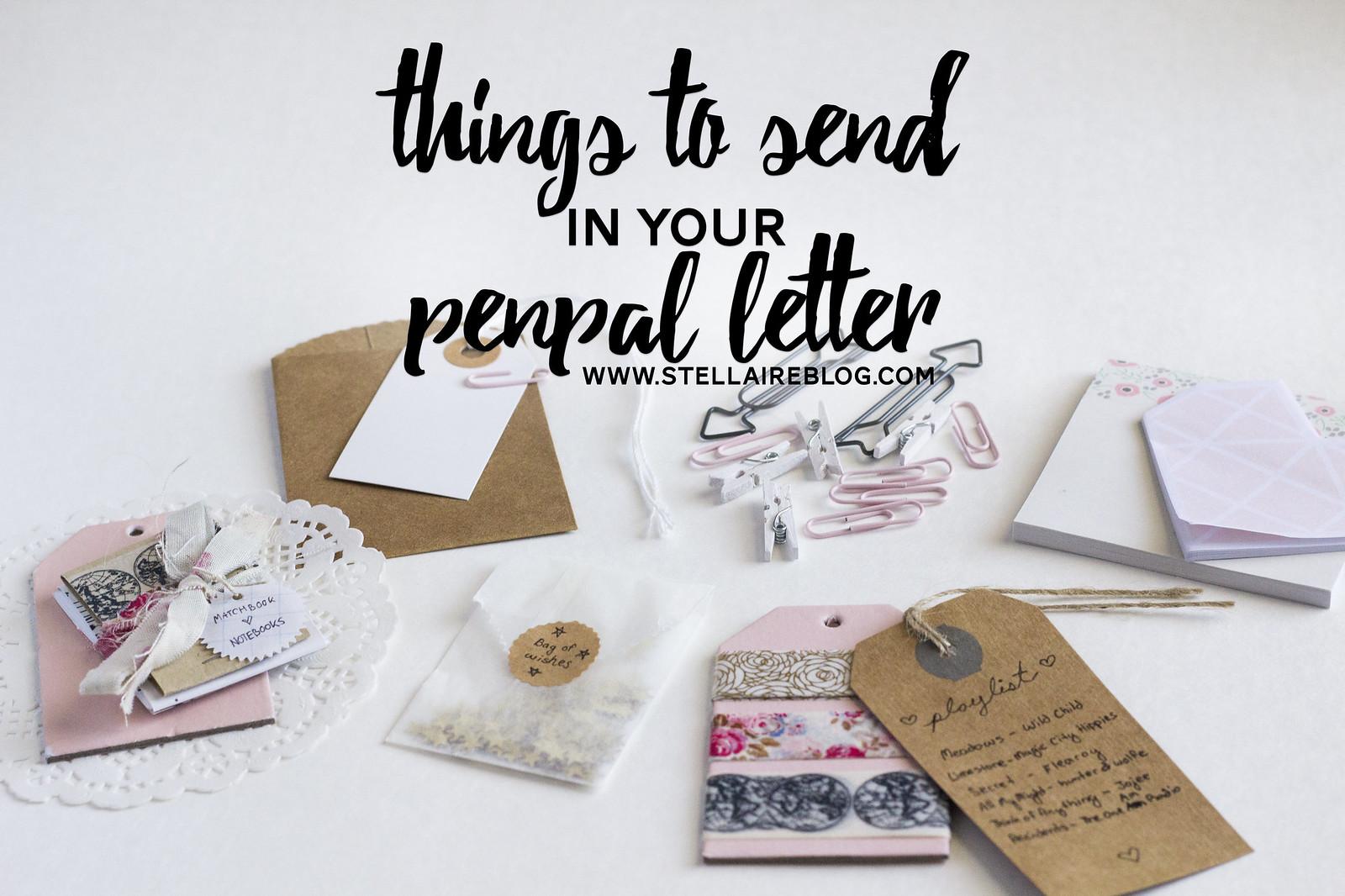 Stellaire  Penpal Letter Guide  2