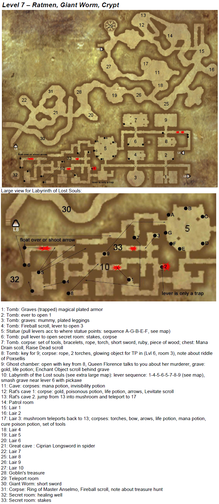 Arx Fatalis - map level 7