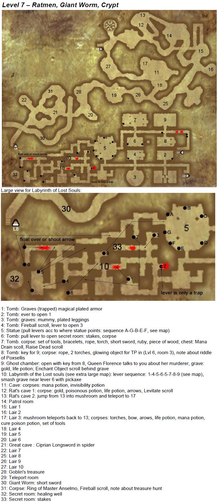 Arx Fatalis - map level 7
