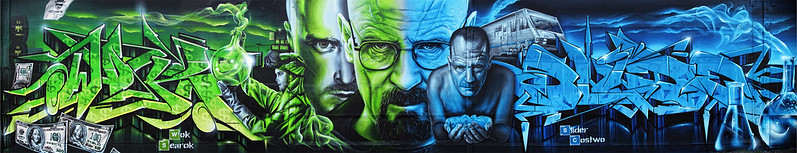 breaking bad wall graff on girls calendar 2015