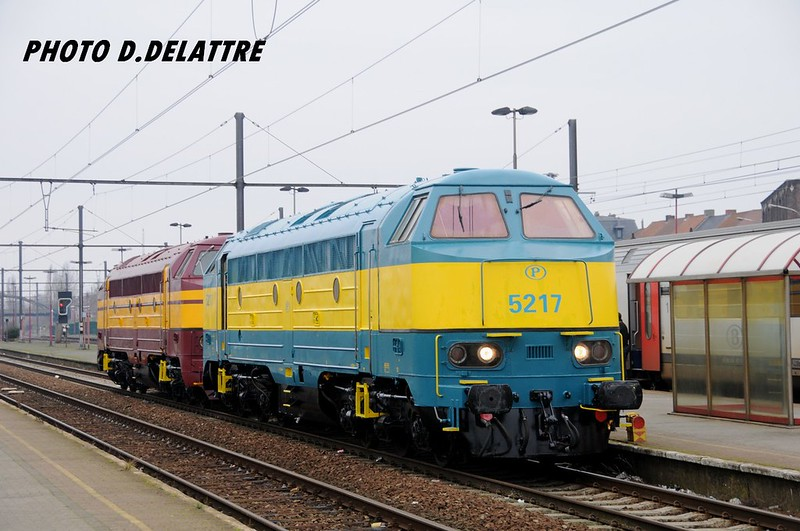 SNCB-NMBS 5217 / Mouscron