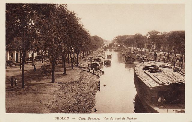 CHOLON - Canal Bonnard, Vue du pont de Palikao