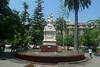 Santiago - Plaza de Armas statue