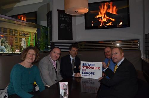 Tom Brake MP in Newcastle Feb 16