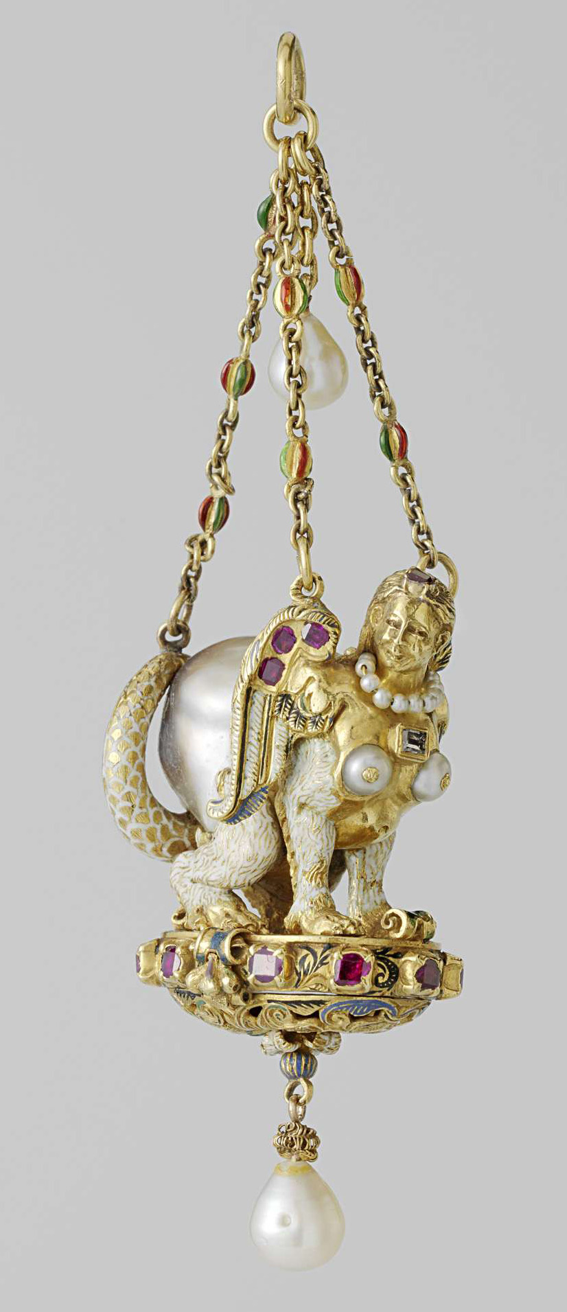 Pendant in the shape of a sphinx - 16th  Century