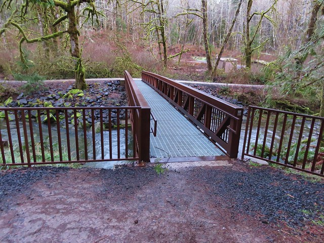 Footbridge over Whittaker Creek