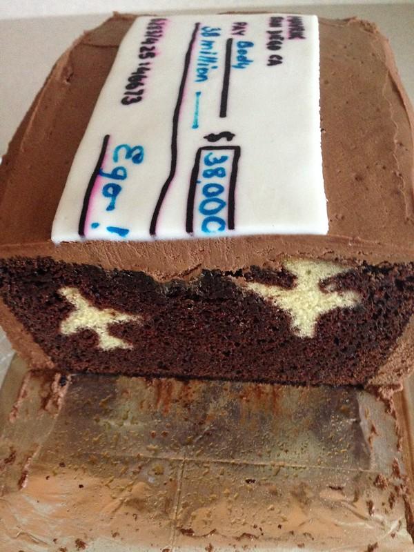 Top Gun Cake 2