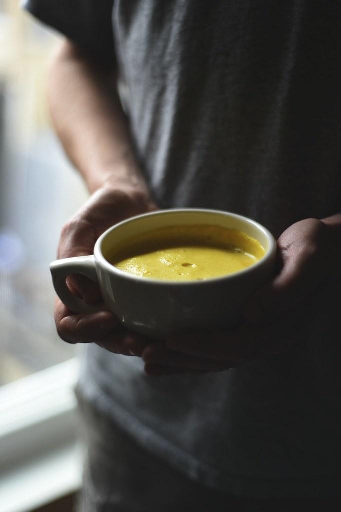 Ginger + Turmeric Latte