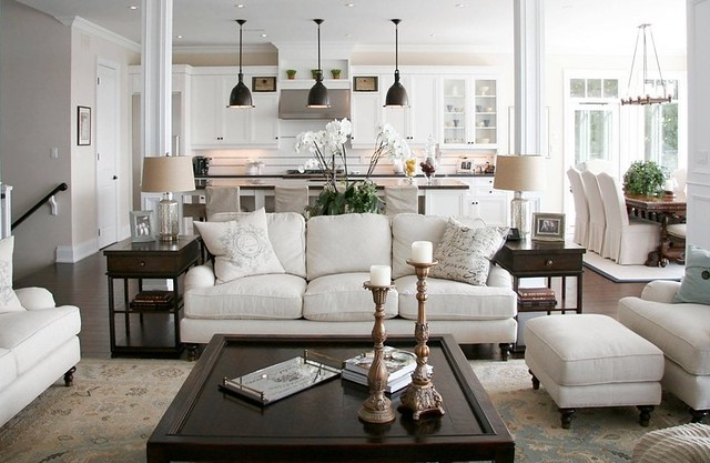 open floor plan inspiration decorating home decor farmhouse chic - Home Decor 2016