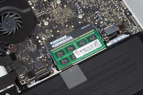 MacBookProのメモリ増設