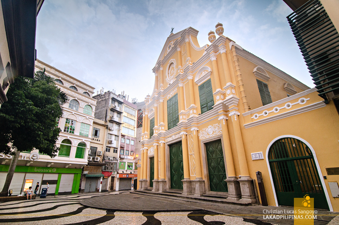 Unesco St. Dominic Square Macau China
