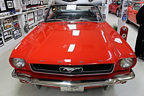 Halderman Barn Museum - 1966 Ford Mustang convertible