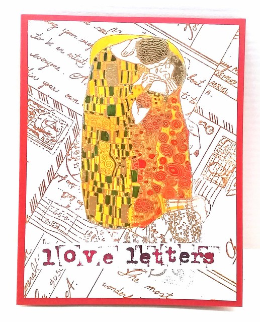 A loving Kiss - Love Letters