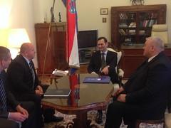 Ministar Kovač s dopredsjednikom RS Jerkovićem, ministrom Čordašem i savjetnikom Zeko