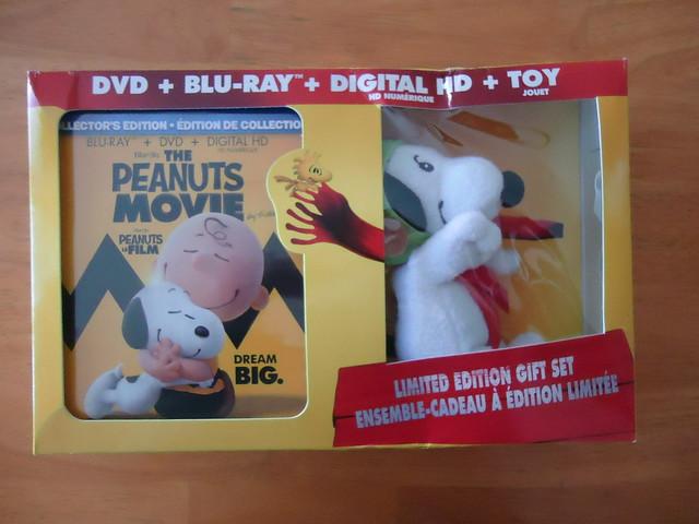 The Peanuts Movie and bonus mini Flying Ace Snoopy