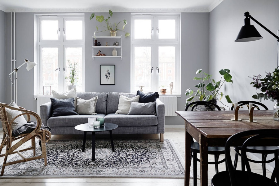 Soft Grey Home