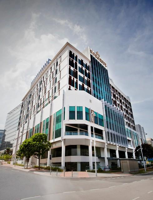 Dorsett Putrajaya. Facade with logo