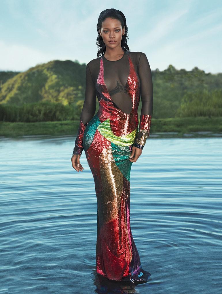 Рианна — Фотосессия для «Vogue» 2016 – 5