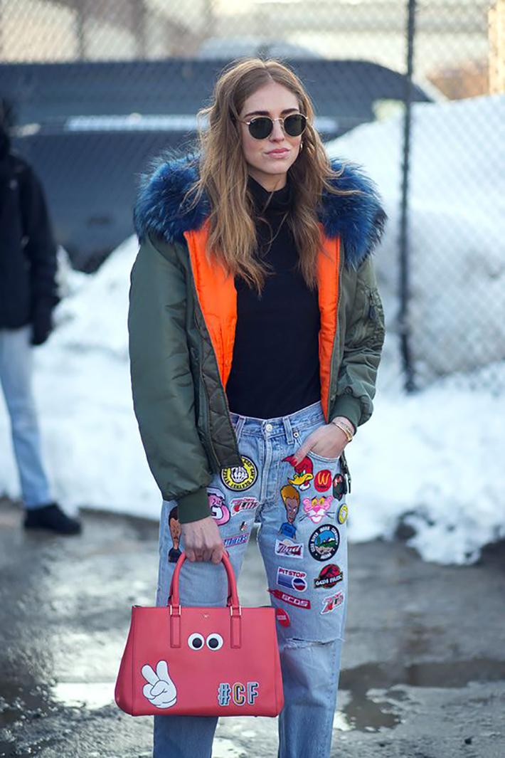patched denim outfit6