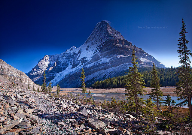 *** Mt. Robson.. Unconventional View ***