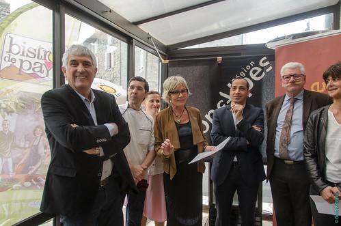 Inauguration Bistrot de Pays - Saint-Jean-le-Centenier (03)