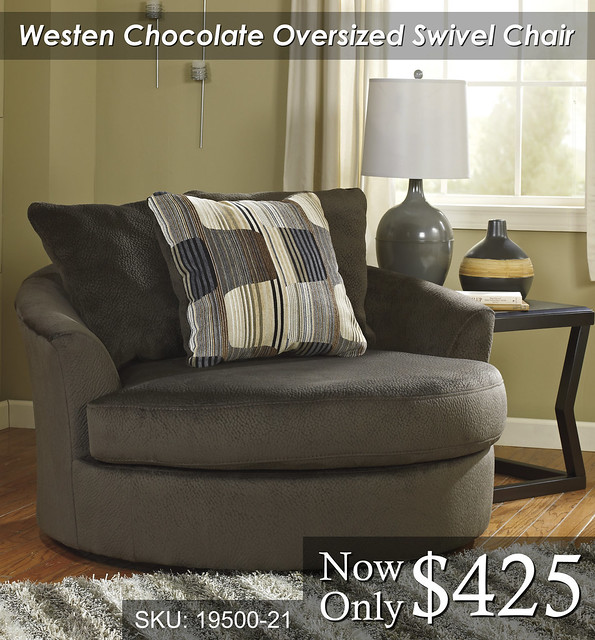 Westen Chocolate Oversized Chair