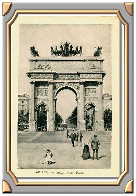 MILAN. - Arc de la Paix