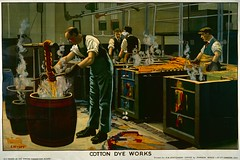 Cotton Dye Works, Empire Marketing Board poster